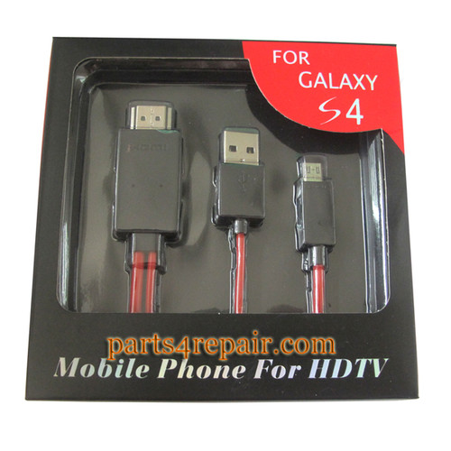 MHL Micro USB To HDMI for Samsung S3 S4 Note 2 3 from www.parts4repair.com