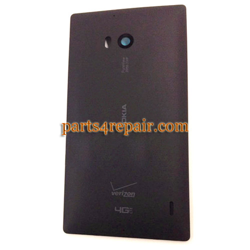 Back Cover for Nokia Lumia Icon 929 -Black from www.parts4repair.com