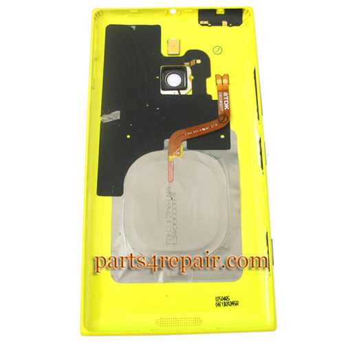 We can offer Back Housing Assembly Cover with NFC for Nokia Lumia 1520 -Yellow