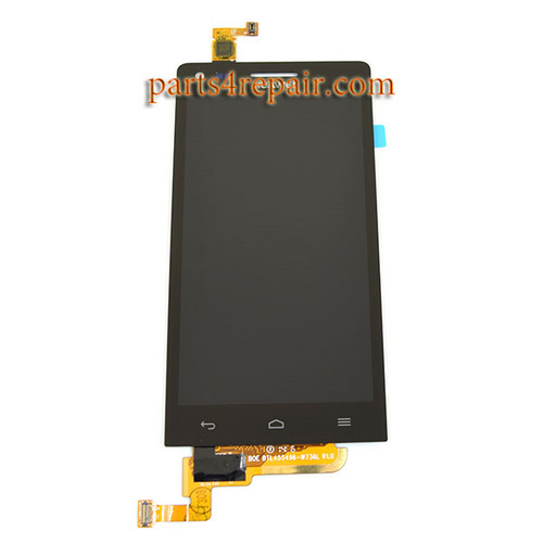 Complete Screen Assembly for Huawei Ascend G6 -Black