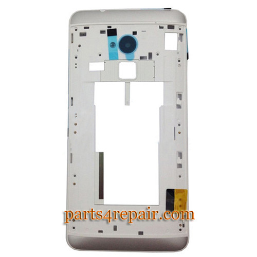 Middle Cover for HTC One Max -White from www.parts4repair.com