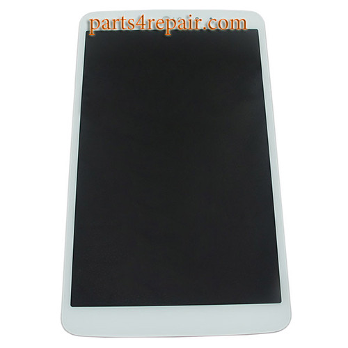 Complete Screen Assembly for LG G Pad 8.3 V500 -White