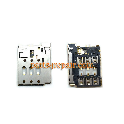 SIM Connector for HTC Desire 610 from www.parts4repair.com