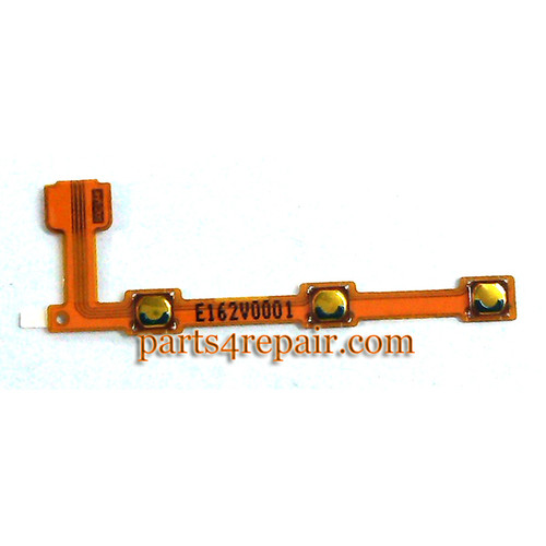 Volume Flex Cable for Nokia X2 Dual SIM from www.parts4repair.com