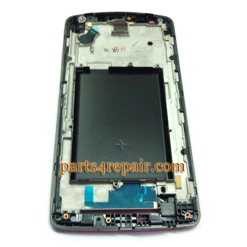 We can offer Front Housing Cover for LG G3 S D725 (for AT&T)