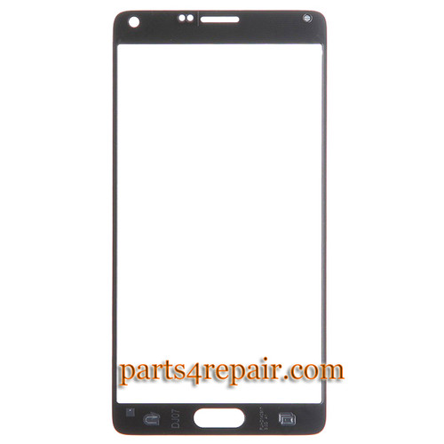 We can offer Front Glass for Samsung Galaxy Note 4 -Black