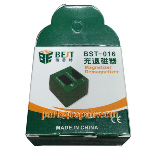BEST-016 2 in 1 Packet Magnetizer Demagnetizer Screwdrivers Tweezer Tool