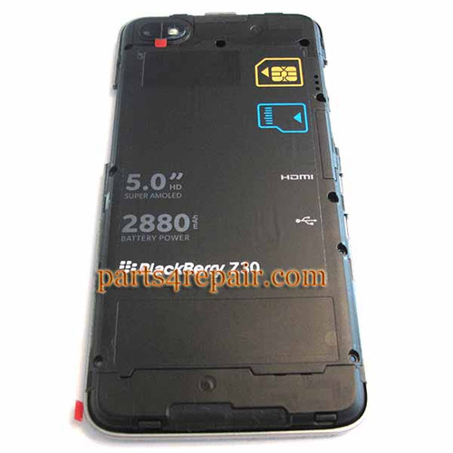 We can offer Middle Cover & Battery for BlackBerry Z30
