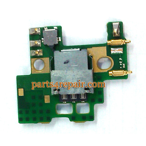 SIM Connector Board for Nokia Lumia 930 from www.parts4repair.com