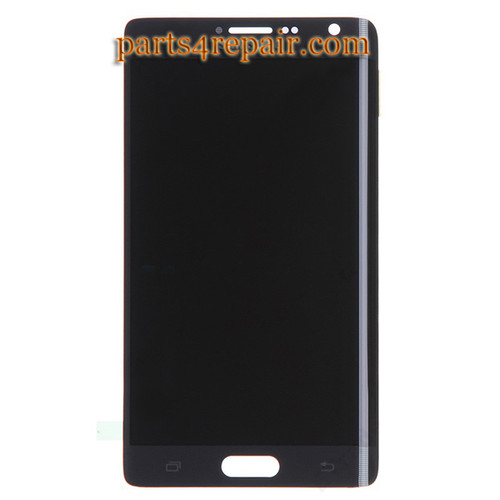 Complete Screen Assembly for Samsung Galaxy Note Edge SM-N915 -Black from www.parts4repair.com