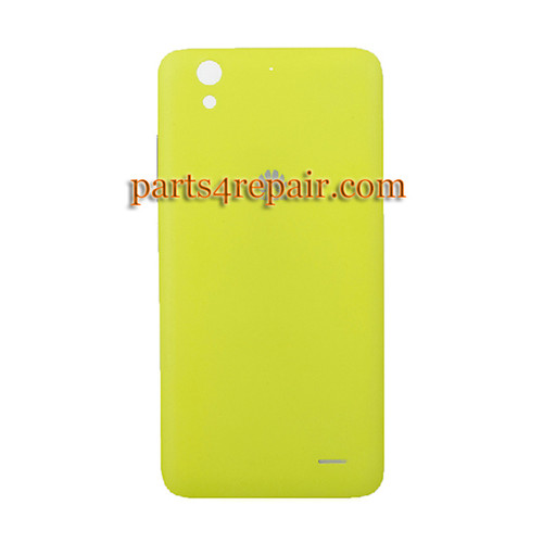 Back Cover with Side Keys for Huawei Ascend G630 -Yellow