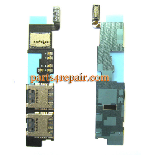 Double SIM Connector Board for Samsung Galaxy Note 4 N9108W from www.parts4repair.com
