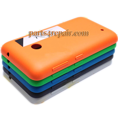 Back Cover with Side Keys for Nokia Lumia 530 -Blue