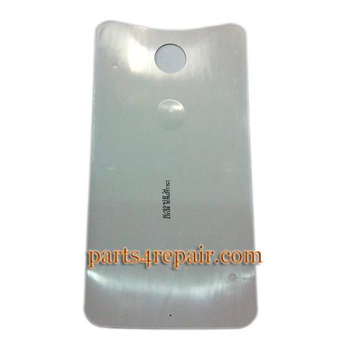 Back Cover for Motorola Nexus 6 -White from www.parts4repair.com