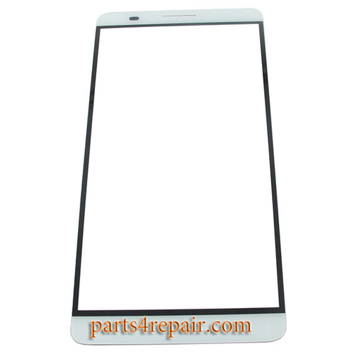 Front Glass OEM for Huawei Ascend Mate7 -White