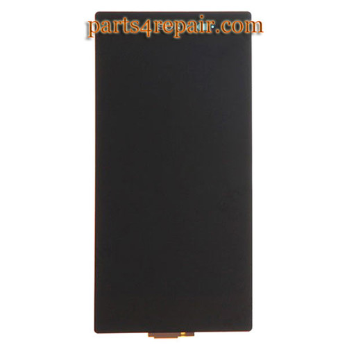 Complete Screen Assembly for Sony Xperia Z1S L39T (T-Mobile Version) -Black from www.parts4repair.com