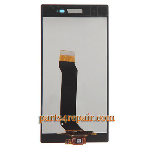 We can offer Complete Screen Assembly for Sony Xperia Z1S L39T (T-Mobile Version) -Black