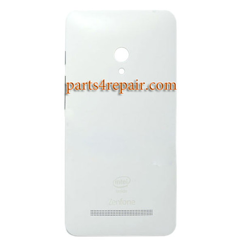 Back Cover with Side Keys for Asus Zenfone 5 A500KL -White
