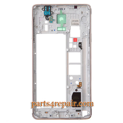 We can offer Middle Cover with Small parts for Samsung Galaxy Note 4 -Gold