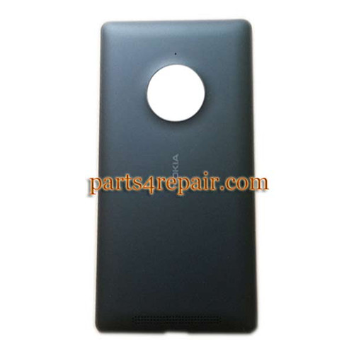 Back Cover with Wireless Charging Coil for Nokia Lumia 830 -Black