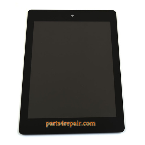 Complete Screen Assembly for Acer Iconia Tab A1-810 from www.parts4repair.com
