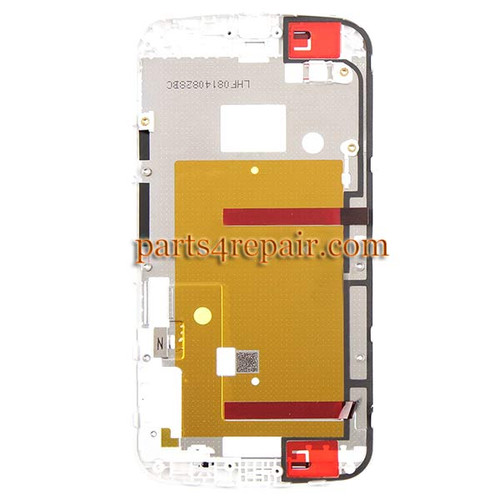 We can offer Front Housing Cover for Motorola Moto G2 -White