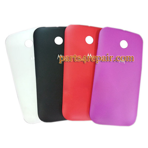 Back Cover for Motorola Moto E XT1021 -Black from www.parts4repair.com