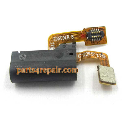 Earphone Jack Flex Cable for Huawei Ascend P6