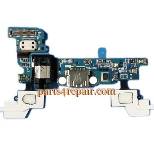 Dock Charging Flex Cable for Samsung Galaxy A3 SM-A300 from www.parts4repair.com