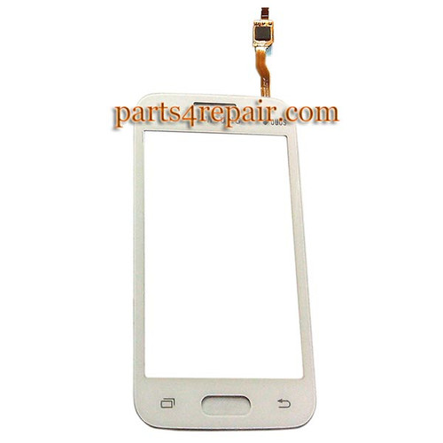 Touch Screen Digitizer for Samsung Galaxy V G313 -White from www.parts4repair.com