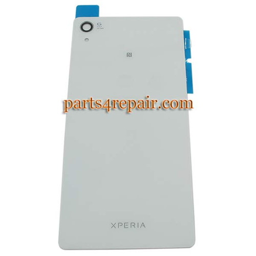 Back Cover OEM with NFC for Sony Xperia Z2 -White