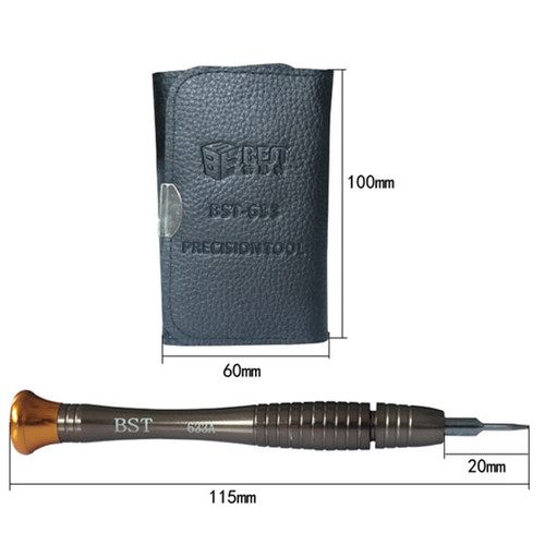 BST-633 Precision Screwdriver with Wallet Repair Tools Kit