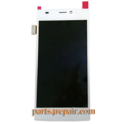 Complete Screen Assembly with Bezel for Gionee Elife S5.5 -White