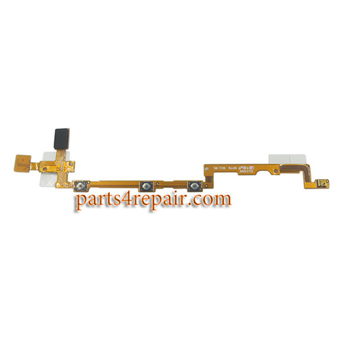 Side Key Flex Cable for Samsung Galaxy Tab 3 8.0 T310