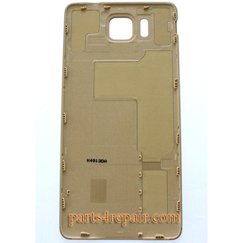 Back Cover for Samsung Galaxy Alpha G850 -Gold