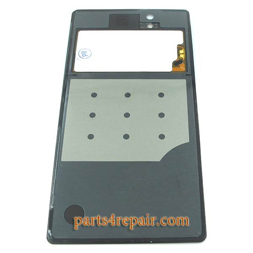 Back Cover with NFC OEM for Sony Xperia Z L36H -Black