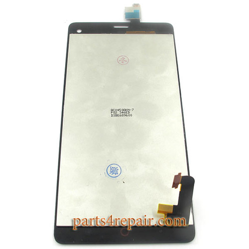 Complete Screen Assembly for ZTE Nubia Z7 mini NX507J -Black
