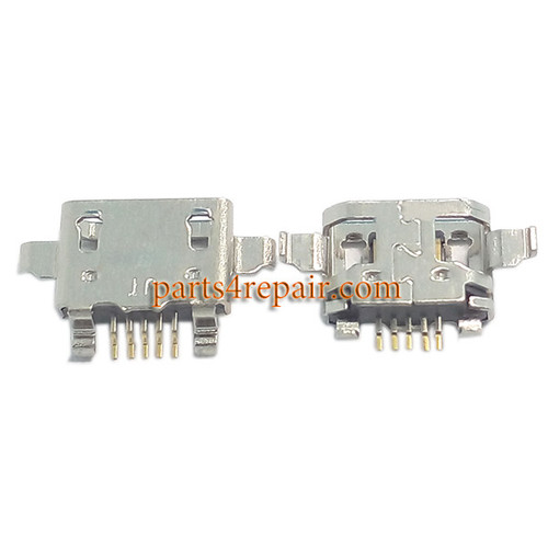 5pcs Dock Charging Port for HTC Desire 816 from www.parts4repair.com