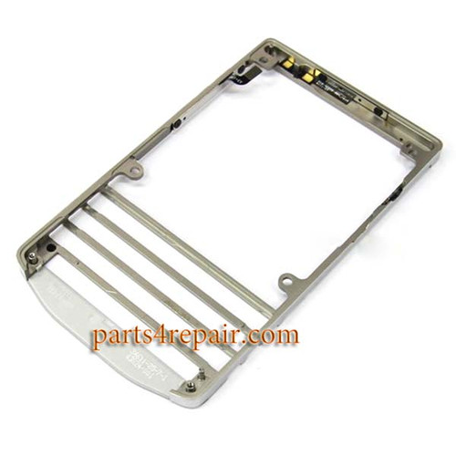Front Frame for BlackBerry Porsche Design P'9981 -Silver