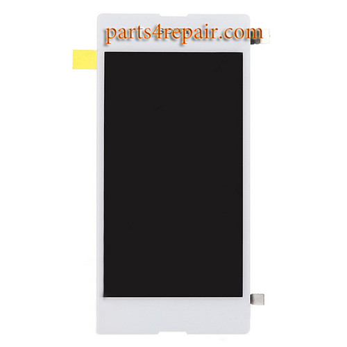 Complete Screen Assembly for Sony Xperia E3 -White