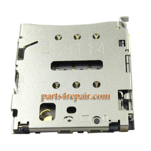 SIM Card Reader for Huawei Honor 6 Plus from www.parts4repair.com