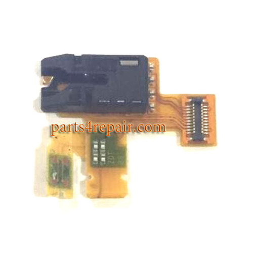 Earphone Jack Flex Cable for Sony Xperia Table Z from www.parts4repair.com