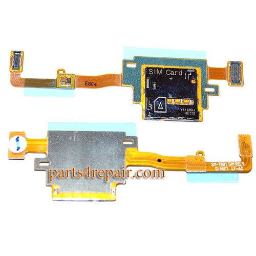 SIM Connector Flex Cable for Samsung Galaxy Tab S 10.5 T805 from www.parts4repair.com