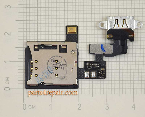 SIM Connector Flex Cable for Oppo R5