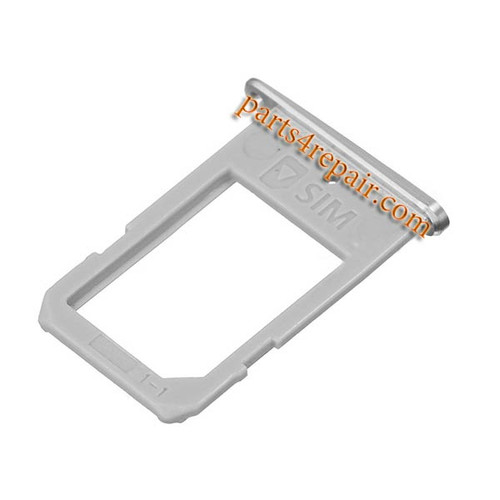 SIM Tray for Samsung Galaxy S6 Edge -White from www.parts4repair.com