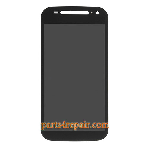 Complete Screen Assembly for Motorola Moto E (2nd Gen) -Black