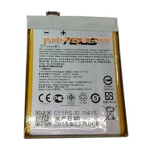 We can offer Asus Zenfone 5 Battery Replacement