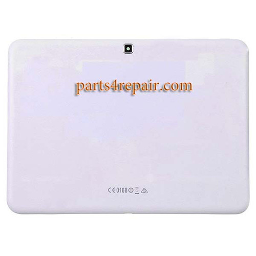 Back Cover with Side Keys for Samsung Galaxy Tab 4 10.1 T530 WIFI -White
