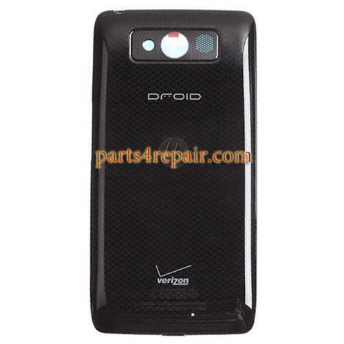Back Housing Cover for Motorola DROID mini XT1030 -Black
