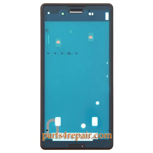 Front Housing Cover for Sony Xperia E3 -Black